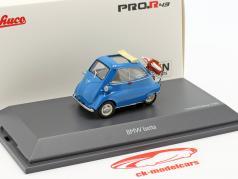 BMW Isetta picknick blauw 1:43 Schuco