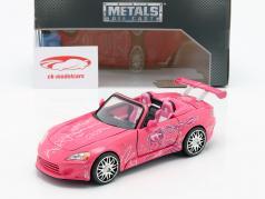 Suki's Honda S2000 2 Fast 2 Furious 2003 roze 1:24 Jada Toys