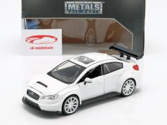 Mr. Little Nobody's Subaru WRX STI Fast and Furious 8 白 1:24 Jada Toys