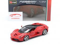 Ferrari LaFerrari vermelho / preto 1:24 Bburago