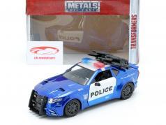 Barricade Police Car Baujahr 2016 Film Transformers 5 blau / weiß 1:24 Jada Toys