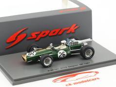 Denis Hulme Brabham BT19 #26 campeão do mundo Bélgica GP fórmula 1 1967 1:43 Spark / 2. eleição