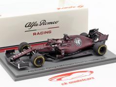 Kimi Räikkönen Alfa Romeo Racing C38 Fiorano Shakedown F1 2019 1:43 Spark / 2. Wahl