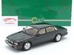 Jaguar XJR X300 ano de construção 1995 verde escuro 1:18 Cult Scale