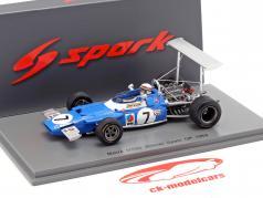 Jackie Stewart Matra MS80 #7 vencedor Spanien GP campeão do mundo F1 1969 1:43 Spark / 2. eleição