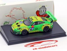 Porsche 911 (991) GT3 R #912 Manthey Racing Winner 24h Nürburgring 2018 1:64 Spark / 2. choice