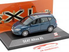 Seat Altea XL azul escuro metálico 1:43 Seat