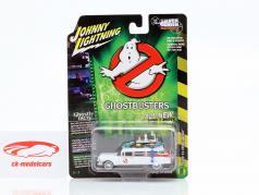 Cadillac Ambulance Ecto-1 1959 Movie Ghostbusters (1984) White 1:64 Johnny Lightning