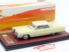 Cadillac Coupe DeVille ano de construção 1966 creme branco 1:43 GLM