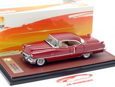 Cadillac Sedan DeVille ano de construção 1956 mandan vermelho 1:43 GLM