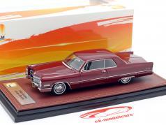 Cadillac Coupe DeVille ano de construção 1966 castanho-avermelhado 1:43 GLM