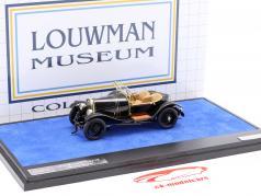 Bugatti 18 Black Bess ano de construção 1910 preto 1:43 Matrix