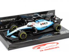 George Russell Williams FW42 #63 fórmula 1 2019 1:43 Minichamps