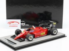 Michele Alboreto Ferrari 126C4-M2 #27 2nd Europa GP F1 1984 1:18 Tecnomodel