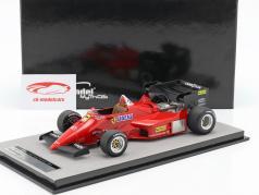Ferrari 126C4-M2 imprensa Version fórmula 1 1984 1:18 Tecnomodel