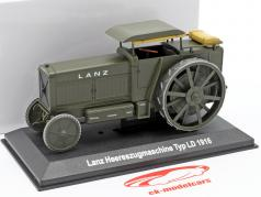 Lanz Typ LD tractor 1916 olive green 1:43 Hachette