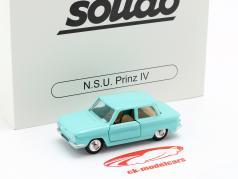NSU Prinz IV Bouwjaar 1961 turkoois 1:43 Solido