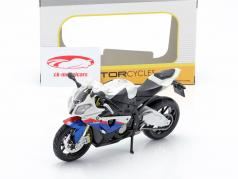 BMW S1000 RR white / black / blue / red 1:12 Maisto