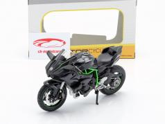 Kawasaki Ninja H2R black / dark grey / green 1:12 Maisto