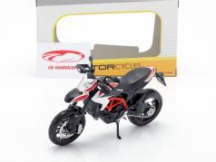 Ducati Hypermotard SP Opførselsår 2013 rød / hvid / sort 1:12 Maisto