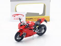 Ducati 1199 Panigale rood / zwart 1:12 Maisto