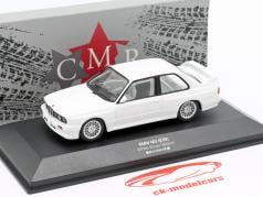 BMW M3 (E30) Sport Evolution DTM 1992 Plain Body Version weiß 1:43 CMR