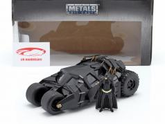 Batmobile con batman cifra film The Dark Knight 2008 1:24 Jada Toys