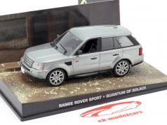 Range Rover Sport автомобиль Джеймса Бонда Квант милосердия серебра 1:43 Ixo