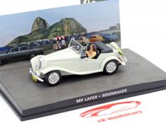 MP Lafer James Bond filme Moonraker carro branco 1:43 Ixo