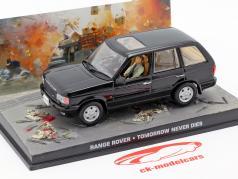 Range Rover Автомобиль Джеймса Бонда фильм Завтра не умрет никогда 1:43 Ixo черный