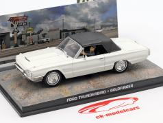 Ford Thunderbird Car James Bond filme Goldfinger branco 1:43 Ixo