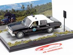 Chevrolet Nova Coche de policía James película de Bond La vida y la muerte una y cuarenta y tres Ixo dejan