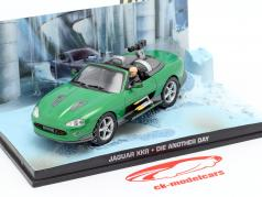 Jaguar XKR película de James Bond Die Another Day Green Car 1:43 Ixo