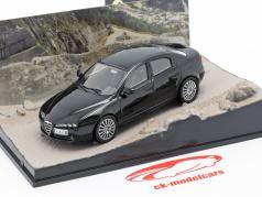 Alfa Romeo 159 James Bond Movie Car Ein Quantum Trost schwarz 1:43 Ixo