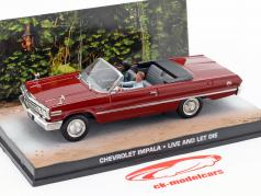 Chevrolet Impala James Bond-film The Life and Death kan donkere 1:43 Ixo