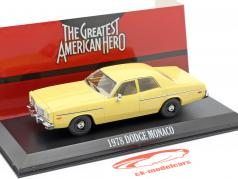 Dodge Monaco 1978 série de TV The Greatest American Hero (1981-83) 1:43 Greenlight