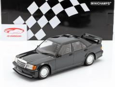 Mercedes-Benz 190E 2.5-16V Evo 1 1989 bleu noir métallique 1:18 Minichamps
