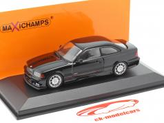 BMW M3 (E36) coupe Bouwjaar 1992 zwart 1:43 Minichamps