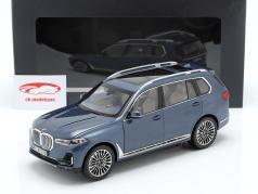 BMW X7 (G07) Baujahr 2019 blau metallic 1:18 Kyosho