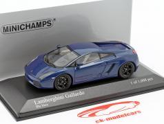 Lamborghini Gallardo Baujahr 2006 hera blau metallic 1:43 Minichamps
