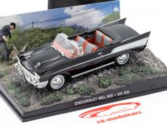 Chevrolet Bel Air Car James Bond do filme James Bond Dr. No 1:43 preto Ixo