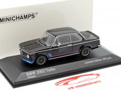 BMW 2002 Turbo (E20) Opførselsår 1973 sort 1:43 Minichamps
