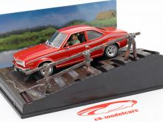 AMC Hornet James Bond Film voiture de l homme avec le pistolet d'or rouge Ixo 1:43