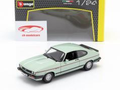 Ford Capri 2.8i 建造年份 1982 薄荷绿 金属的 1:24 Bburago