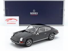 Porsche 911 S Coupe année de construction 1973 noir 1:18 Norev