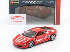 Ferrari F430 Fiorano #27 红 1:24 Bburago