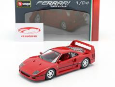 Ferrari F40 year 1987-1992 red 1:24 Bburago