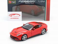 Ferrari F12 Berlinetta vermelho 1:24 Bburago