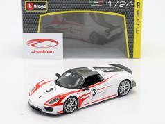 Porsche 918 Weissach #3 1:24 Bburago