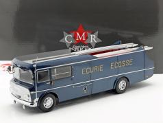 Commer TS3 Truck Equipa Transportador Ecurie Ecosse 1959 azul metálico 1:18 CMR